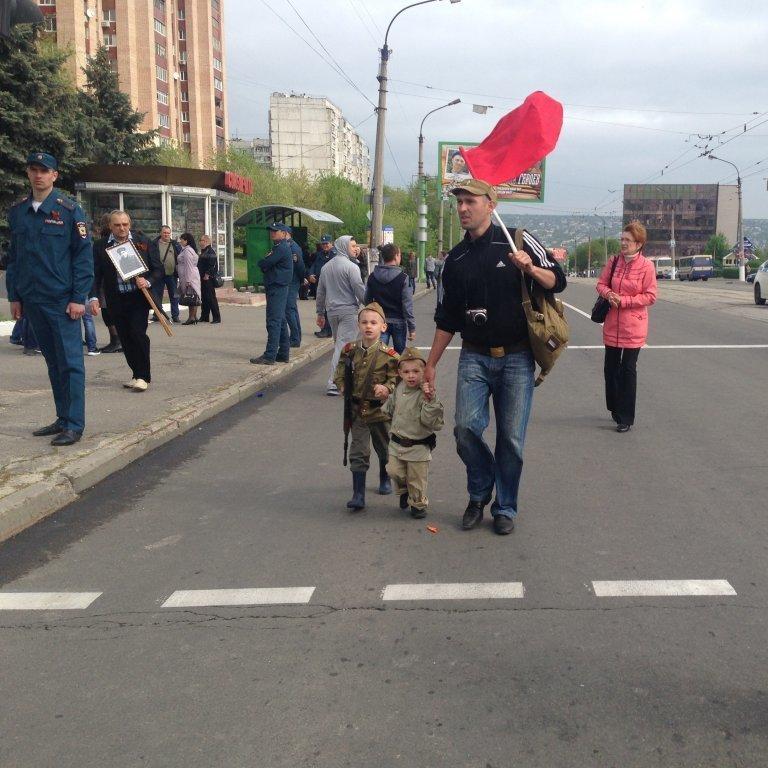 Як пройшов День перемоги на Луганщині (фото)