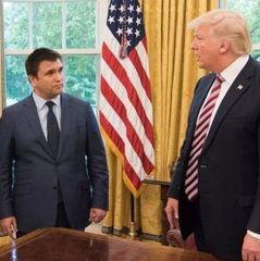 Клімкін зустрівся з Трампом