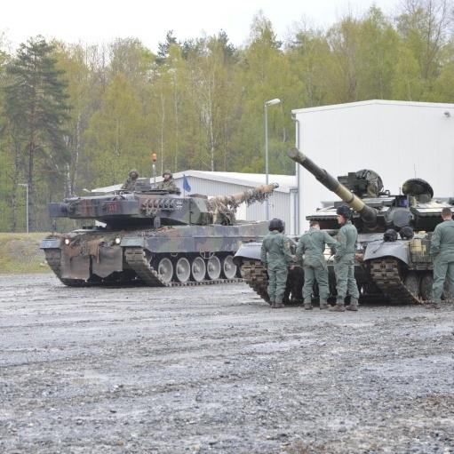 Бійці ЗСУ беруть участь у міжнародних танкових змаганнях (відео)