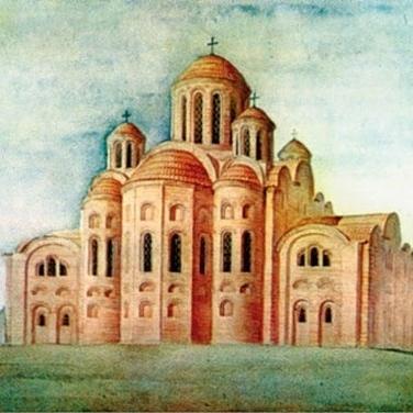 1021 рік тому відбулося освячення Десятинної церкви в Києві