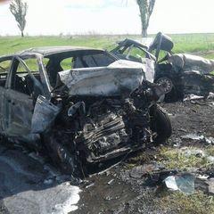 Жахливе ДТП із пожежею на Донеччині: троє загиблих (фото)