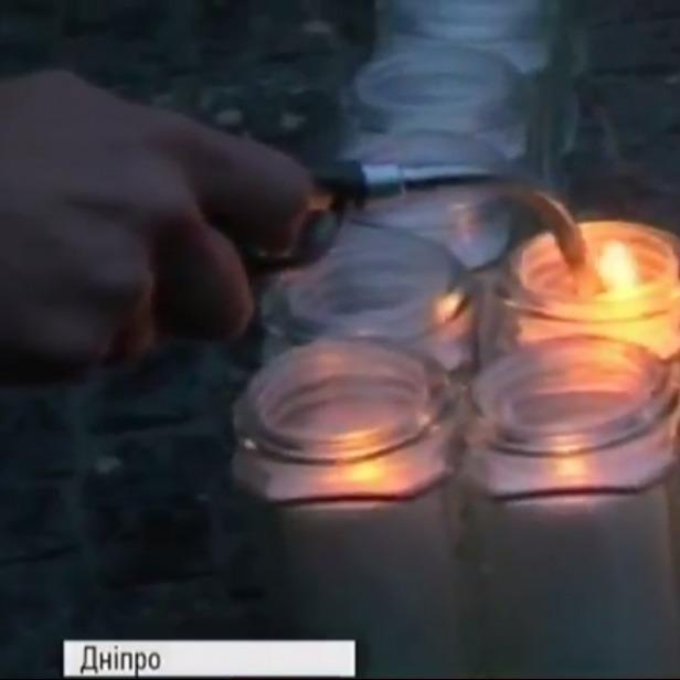 Алея пам'яті бійців АТО відкрилась у Дніпропетровську (фото)