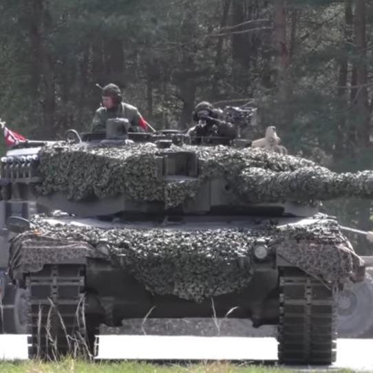 Українці посіли 5 місце на танковому біатлоні в Німеччині (відео)