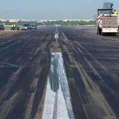 У Міжнародному аеропорту «Київ» (Жуляни) розпочався ремонт (фото)