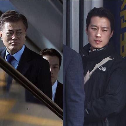 Як із Голлівуду: соцмережі у захваті від охоронця президента Південної Кореї (фото)