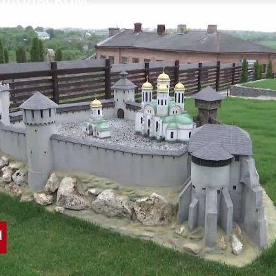 У Кам'янці-Подільському в мініатюрі відтворили найвідоміші замки України (відео)