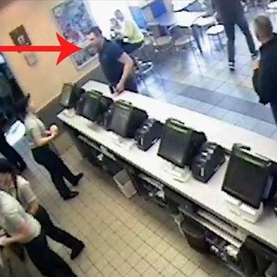Чоловік, який здійснив вбивство у McDonald's прийшов у поліцію із зізнанням