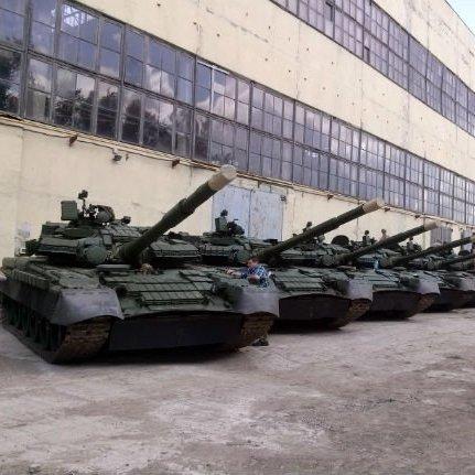 Харківський бронетанковий завод укомплектував українські війська модернізованими танками Т-80