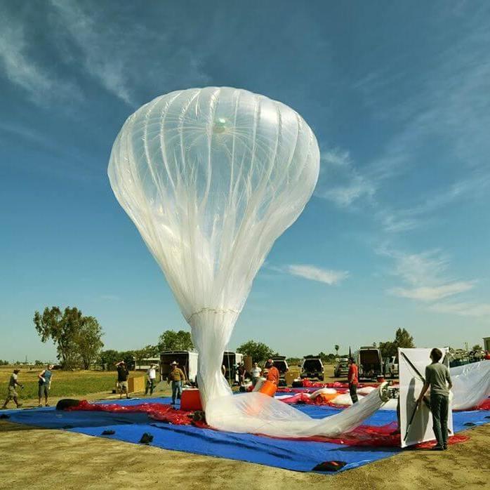 Google запустила повітряні кулі Loon для роздачі інтернету