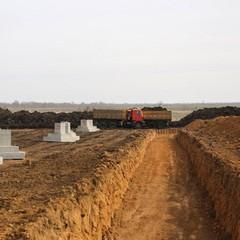 Як просувається будівництво військового табору «Широкий Лан» (відео)
