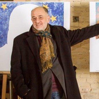 Український художник виступив на захист російської мови в країні