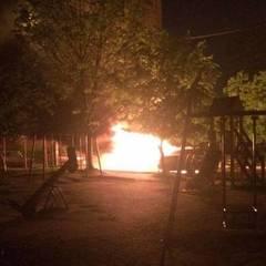 У Львові за ніч згоріло п'ять автомобілів (фото)