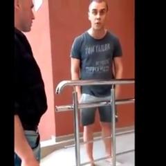 «Іди сюди, я тебе заріжу»:  «подвиги» п'яного жителя Донбасу в Києві (відео)