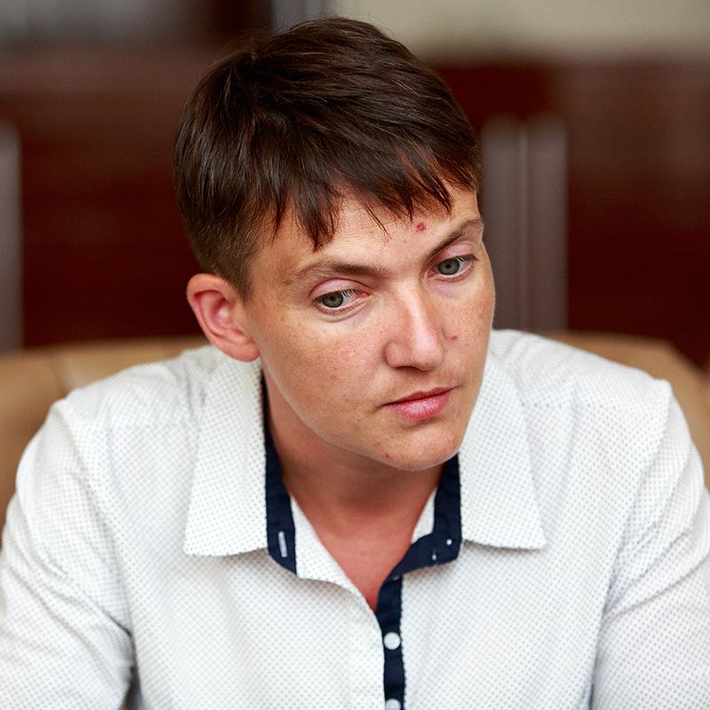 Савченко просить Порошенка ветувати скасування її закону