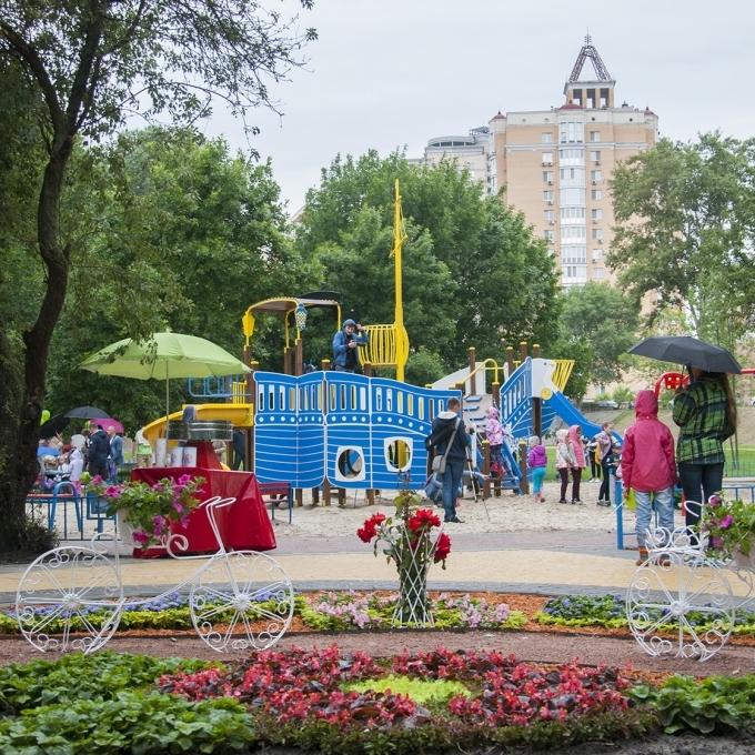Відкриття реконструйованого парку «Наталка» на Оболоні заплановано на 27 травня 2017 року