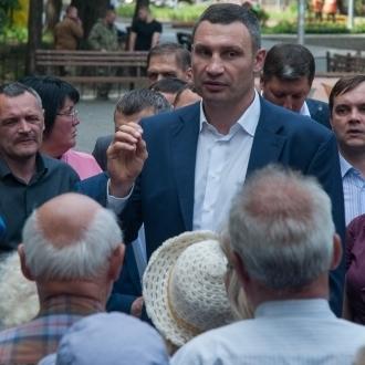 Віталій Кличко: «Ми почали реконструкцію столичного Гідропарку, і до кінця осені презентуємо проект його комплексної реновації»