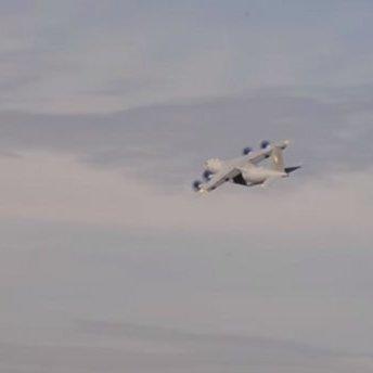 Опубліковано захоплююче відео презентаційного польоту Ан-70 компанії «Антонов»