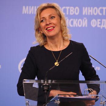 Захарова про заборону георгіївської стрічки в Україні: Це дасть привід відкладати виконання Мінських домовленостей