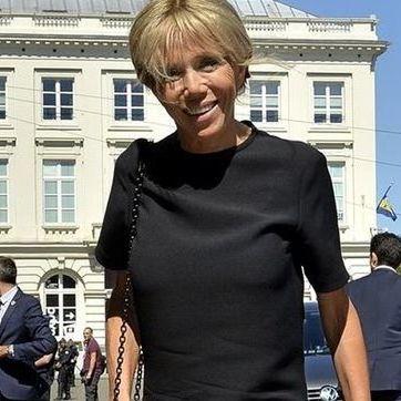 Дружина президента Франції прибула на саміт НАТО у міні-сукні ціною в 2300 євро (фото)