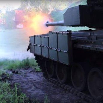 Як виглядає і на що здатен новий український танк «Оплот»: з'явилось відео