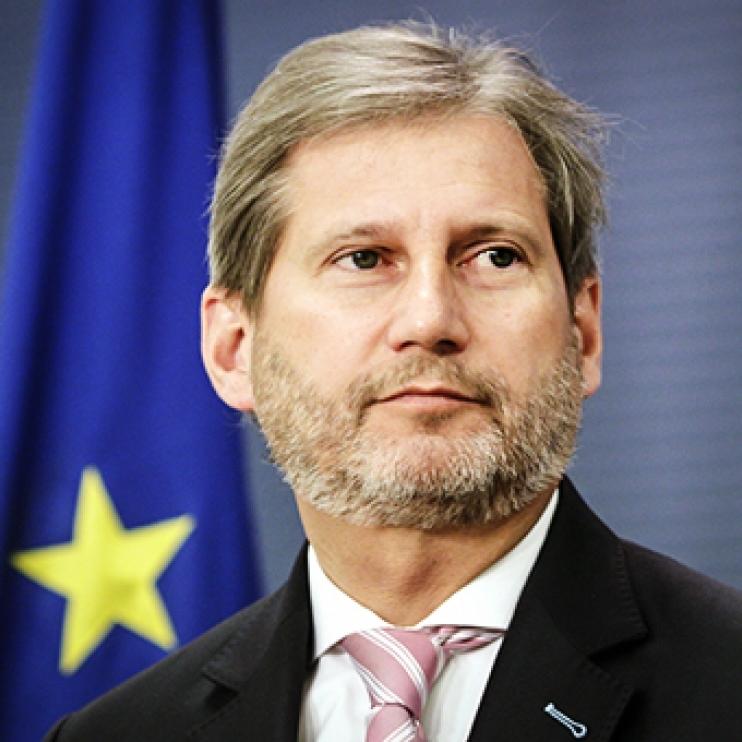 Єврокомісар Ган відвідає Україну 1-2 червня