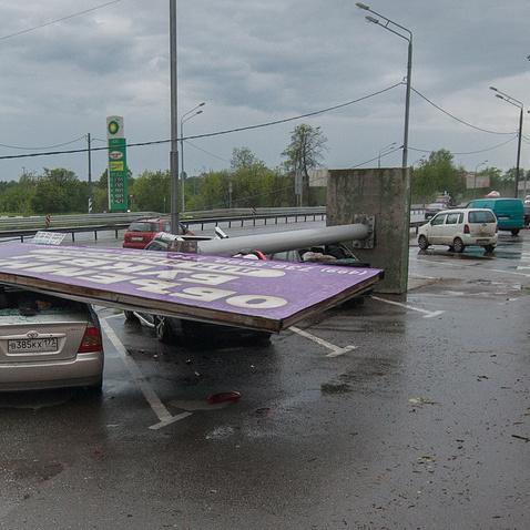 Стало відомо, скільки людей загинуло у Москві від урагану