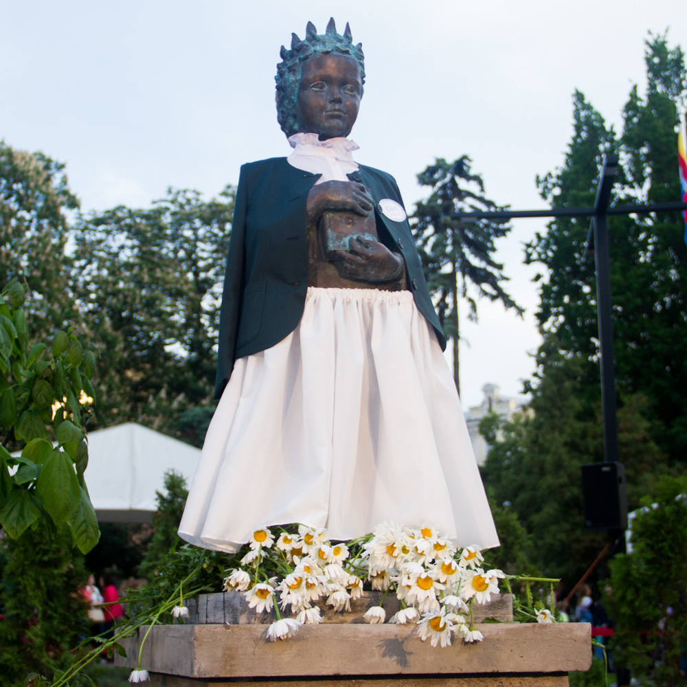 «Anne de Kiev Fest»: у столиці у рамках фестивалю презентували сквер імені Анни Київської