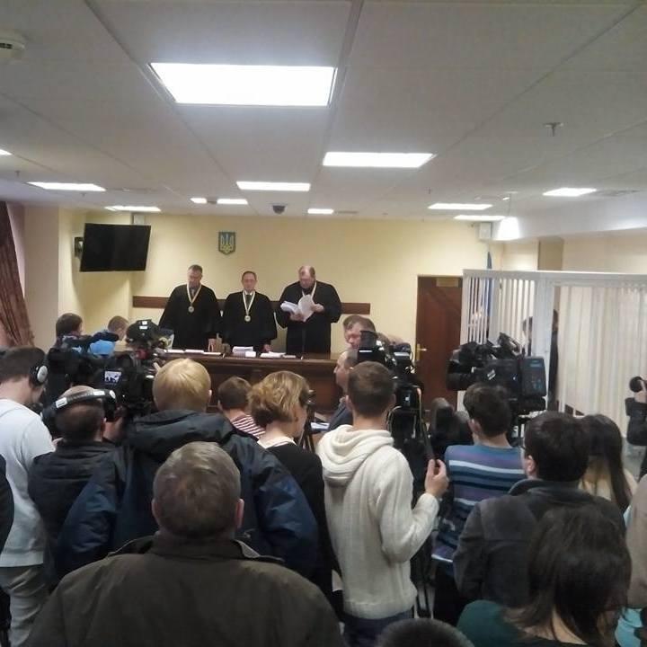На Черкащині активісти вірвались у зал суду: стали відомі причини