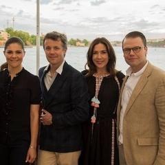 Принцеса Данії красувалась у вишиванці від відомих українських модельєрів (фото)