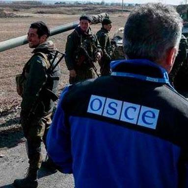 П'яний бойовик затримав місію ОБСЄ