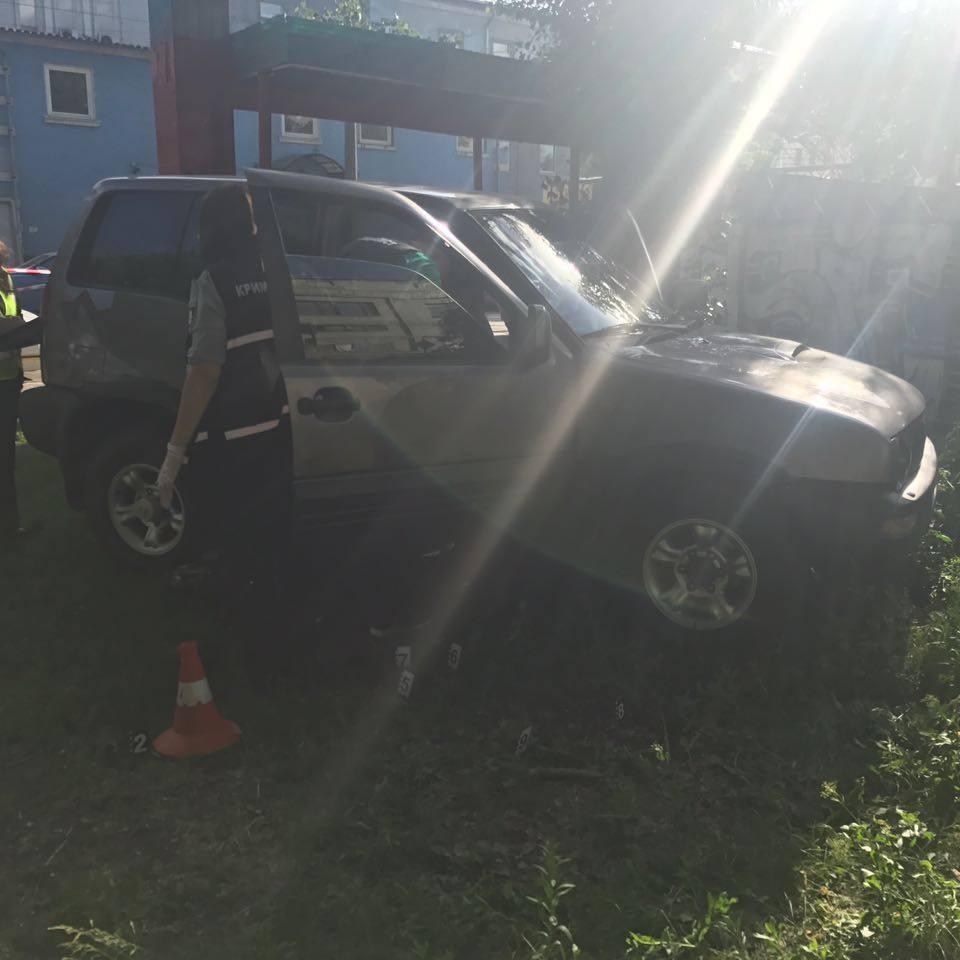 Перестрілка в центрі Києва: двоє поранених (фото)