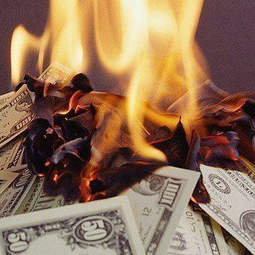 Невдале пограбування в Вашингтоні: злоріли усі гроші в банкоматі (фото)