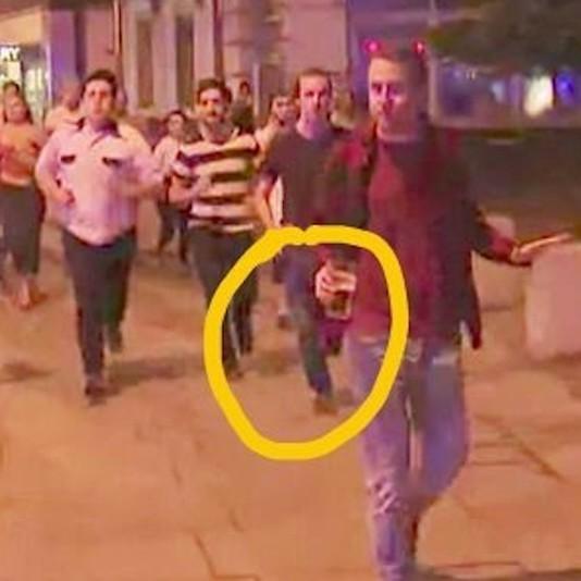 Британця, що  рятував пиво під час теракту, назвали символом лондонської безстрашності