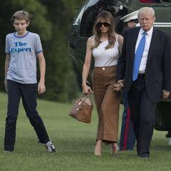 Меланія і Беррон Трамп переїхали в Білий дім