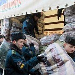 Вперше за три роки Лукашенко відправив гуманітарну допомогу на схід України
