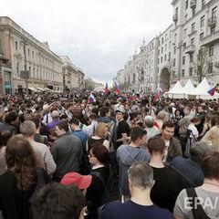 Федеральні телеканали проігнорували акції протесту в Росії