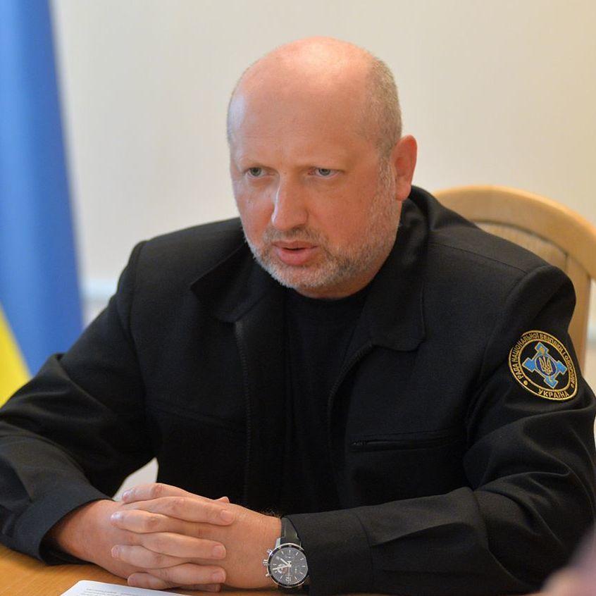 Турчинов вважає, що подальше звільнення окупованих територій у рамках формату АТО є неможливим