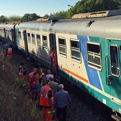 В Італії зіткнулися два поїзда: щонайменше 10 постраждалих (фото)