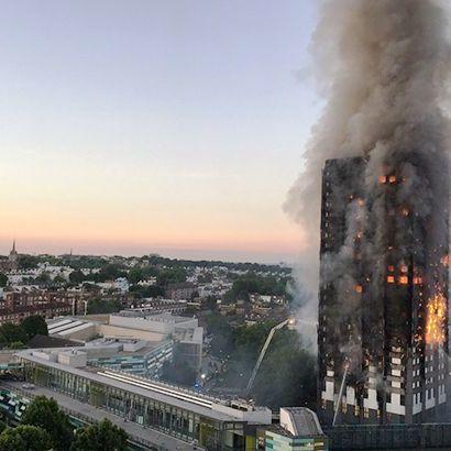Кількість загиблих в результаті пожежі в Лондоні зросла до 17 Четвер
