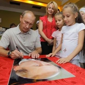 Путін похвалився народженням другого онука