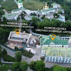 На території Києво-Печерської лаври виявлено купу незаконних новобудов (відео)