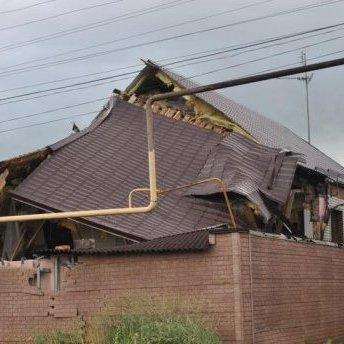 Теракт у Мар'їнці: зруйновано десятки будівель (фото)