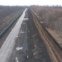 На кордоні із Росією облаштовано 273 км протитранспортних ровів