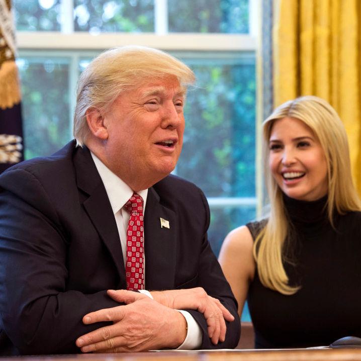 Донька Дональда Трампа  зворушливо привітала батька з днем народження (фото)
