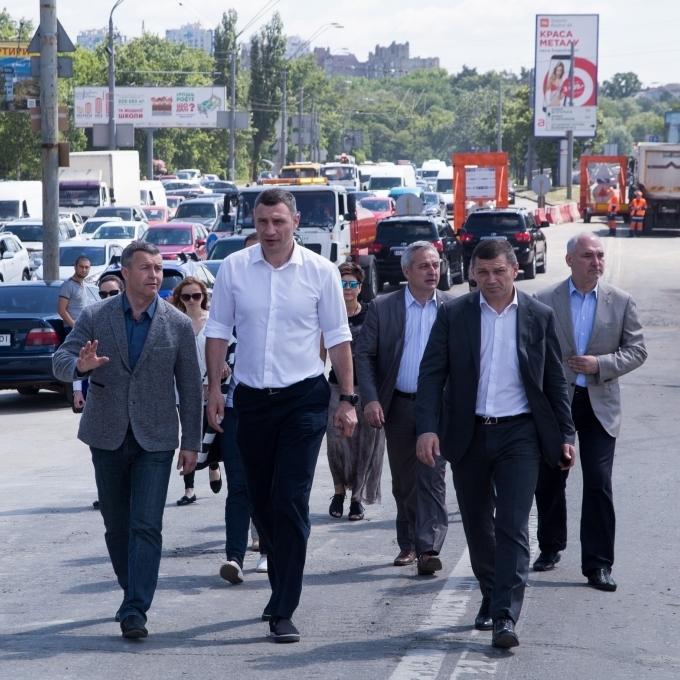 Віталій Кличко пояснив вибір проекту реконструкції транспортної розв'язки на перетині просп. Перемоги з вул. Гетьмана (Шулявського шляхопроводу)