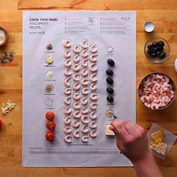 IKEA розробила оригінальні листи з рецептами, в яких можна запікати продукти (відео)