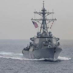 Зіткнення есмінця США з торговим філіпінським судном: опубліковано фото