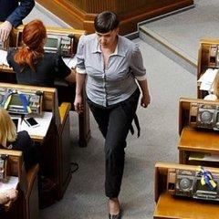 Савченко «гостро» відреагувала на скасування президентом її закону