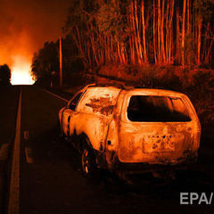 Число жертв лісової пожежі в Португалії перевищило 60