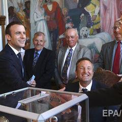 Партія Макрона та її союзники здобувають абсолютну більшість у парламенті Франції – екзит-пол